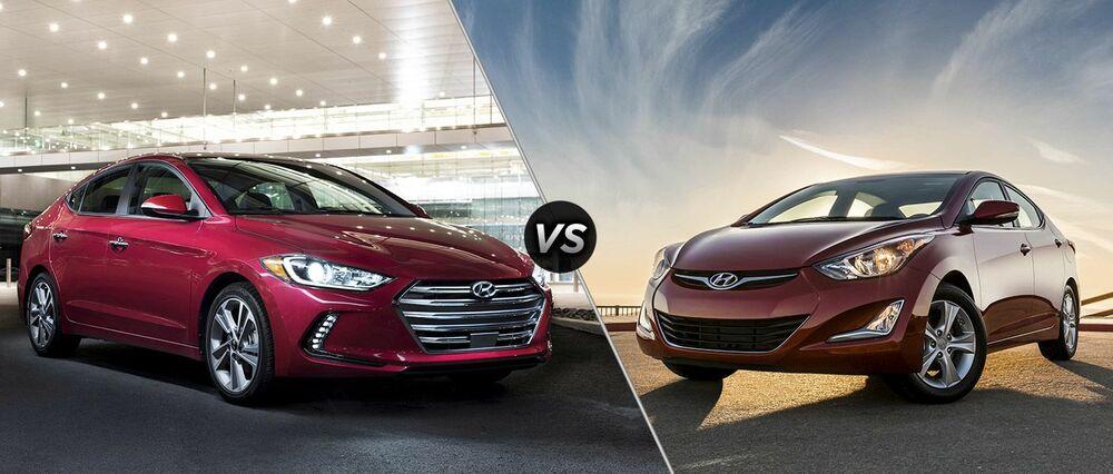 Hyundai Solaris и Elantra