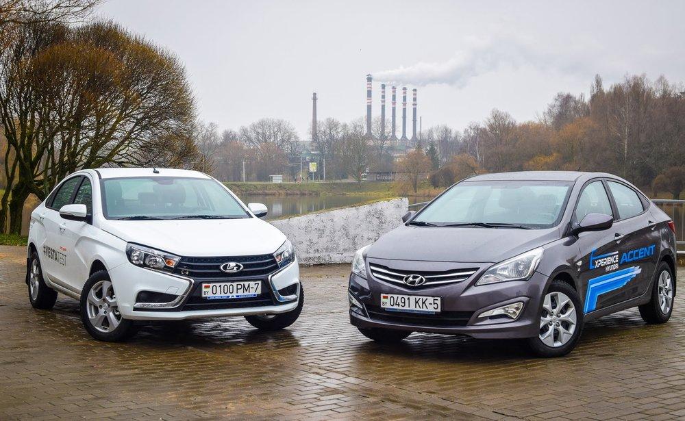 Hyundai Solaris или Lada Granta