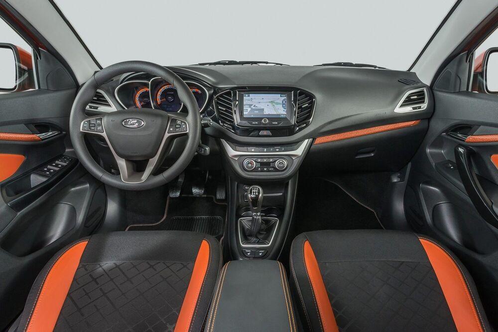 Lada Vesta салон авто