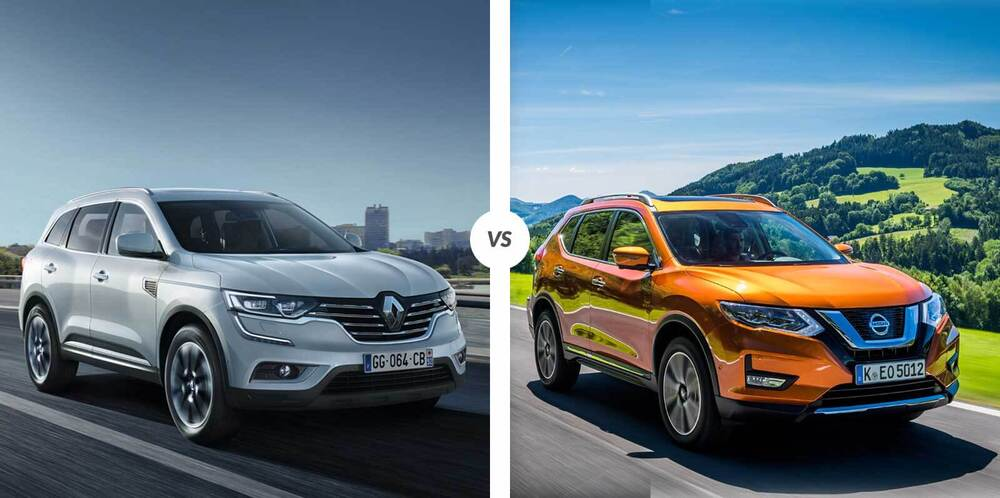 Nissan X-Trail и Renault Koleos