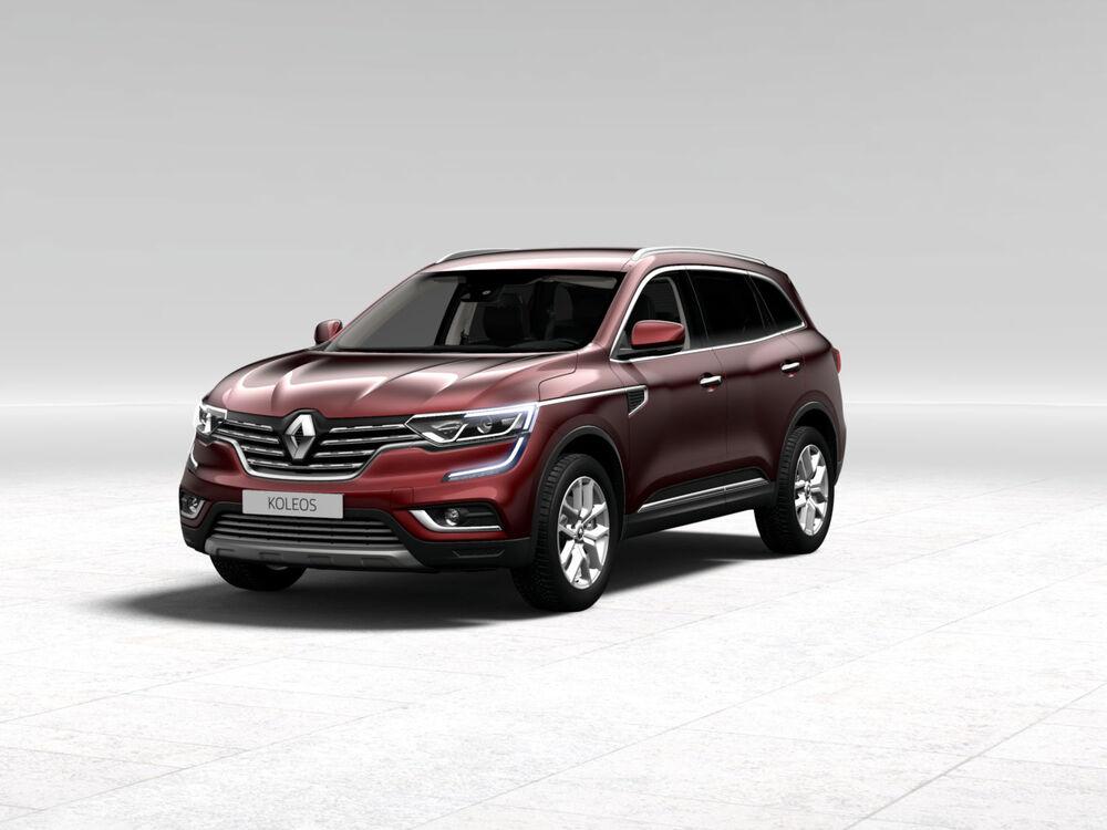 Renault Koleos бардовый