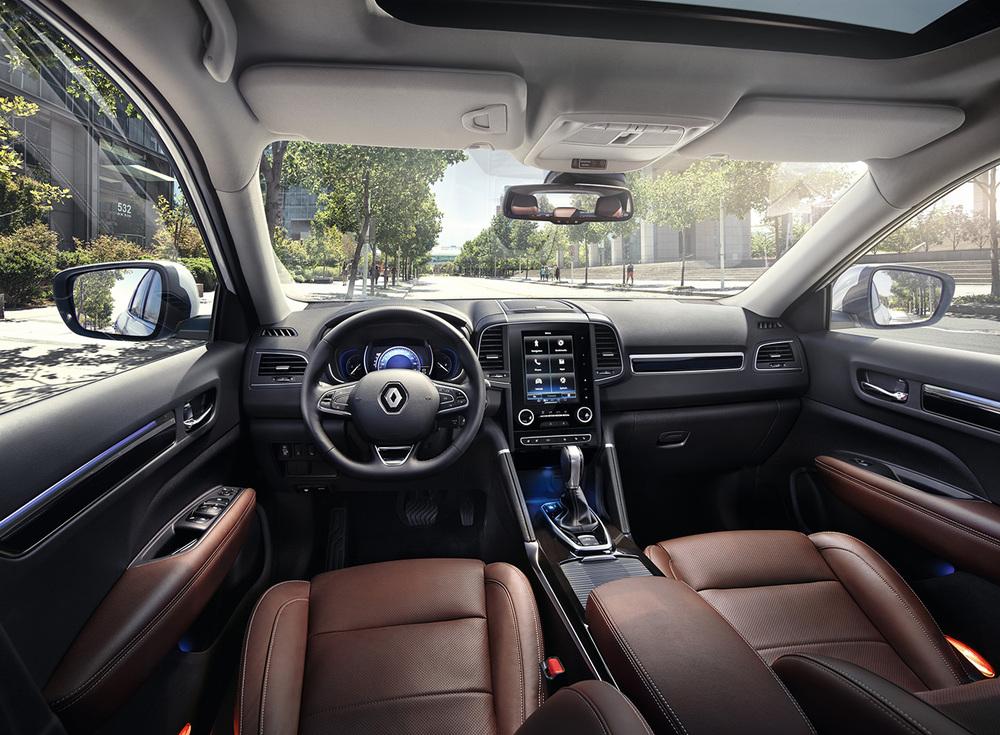 Renault Koleos коричневый