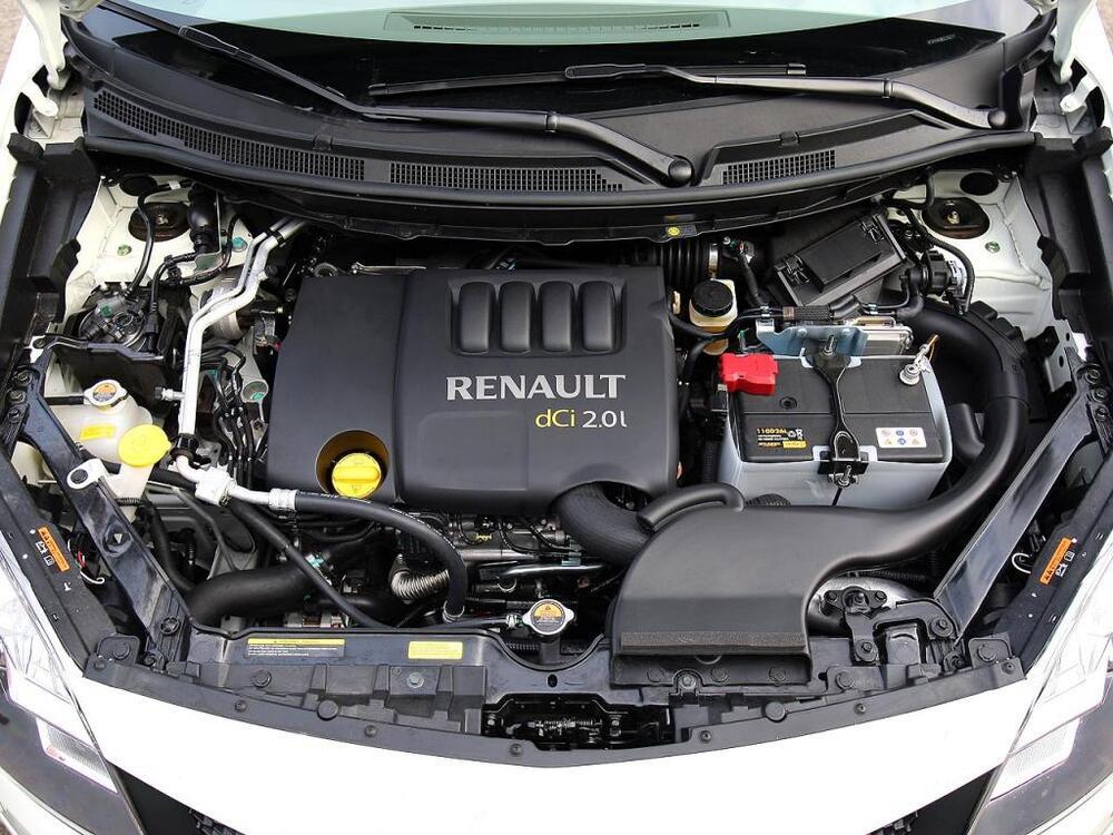 Renault Koleos мотор