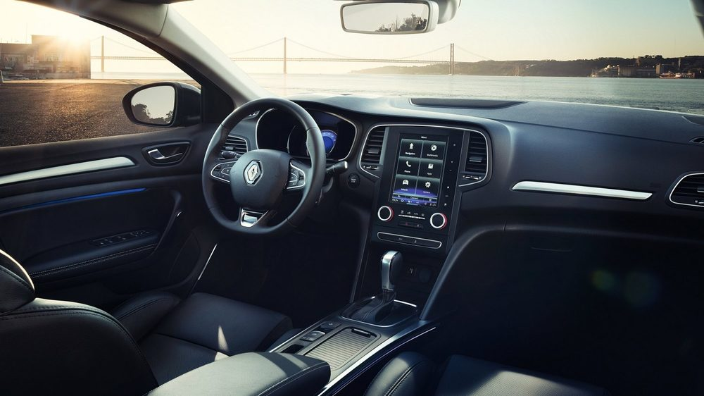Renault Megane салон авто