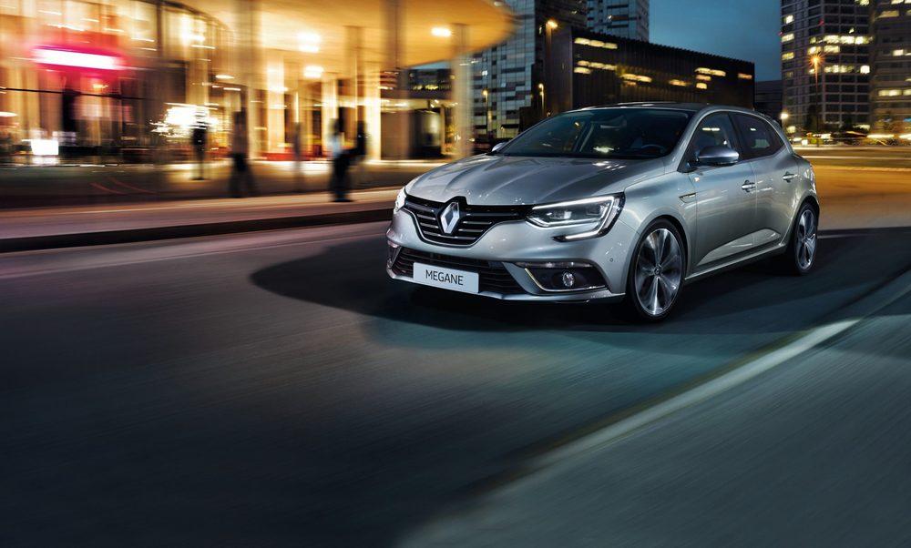 Renault Megane серый