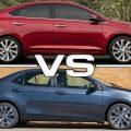 Toyota Corolla и Hyundai Solaris