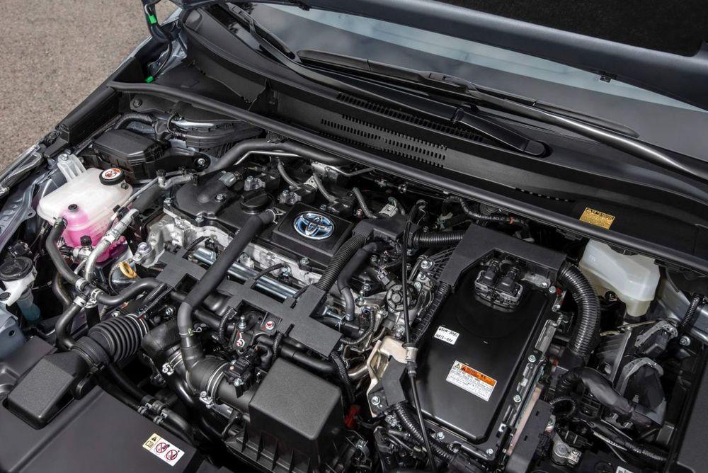 Toyota Corolla мотор авто