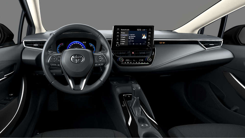 Toyota Corolla салон черный