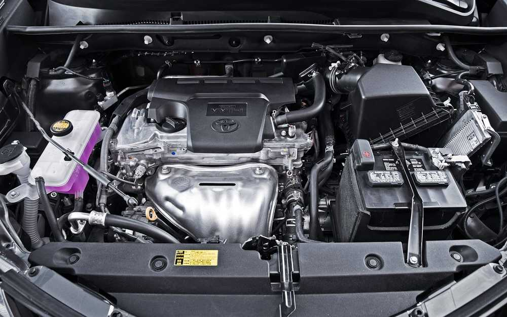 Toyota RAV4 мотор