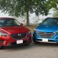 Hyundai Tucson и Mazda CX-5
