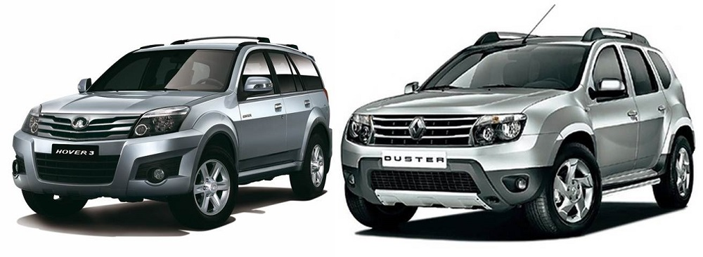Renault Duster и Great Wall Hover H5