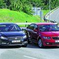 Skoda Octavia und VW Passat