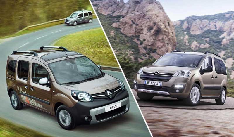 Renault Kangoo и Citroën Berlingo