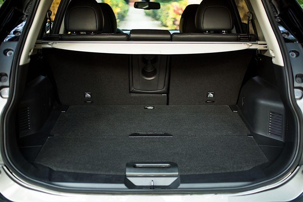 Багажник автомобиля Nissan X-Trail
