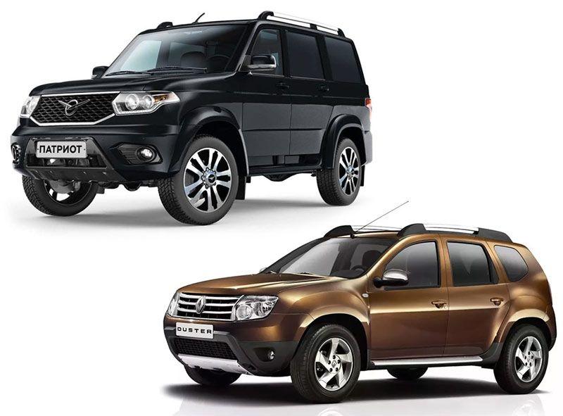 Renault Duster и УАЗ Патриот