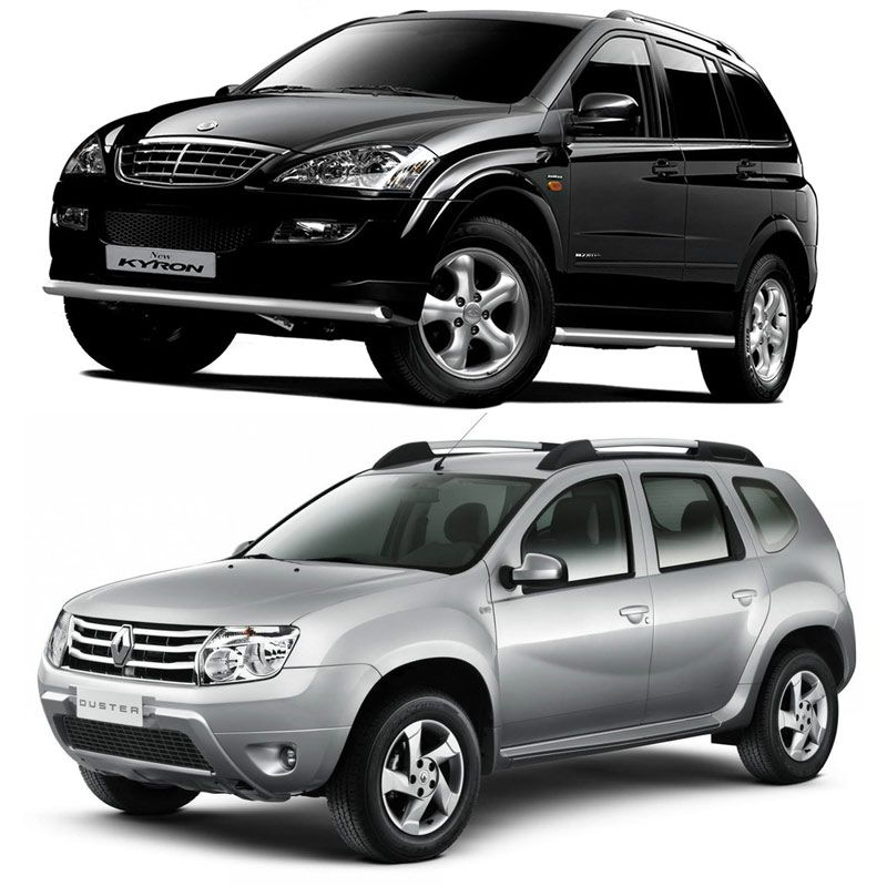 Автомобили SsangYong Kyron и Renault Duster
