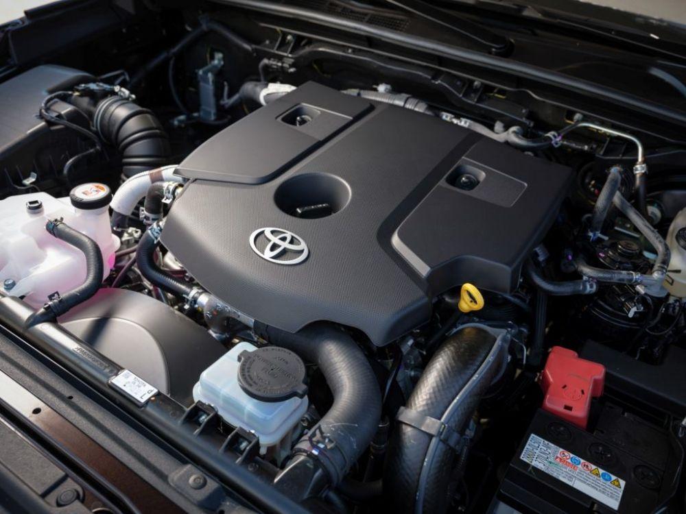 Мотор Toyota Fortuner