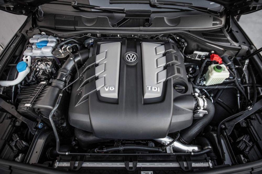 Мотор Volkswagen Touareg