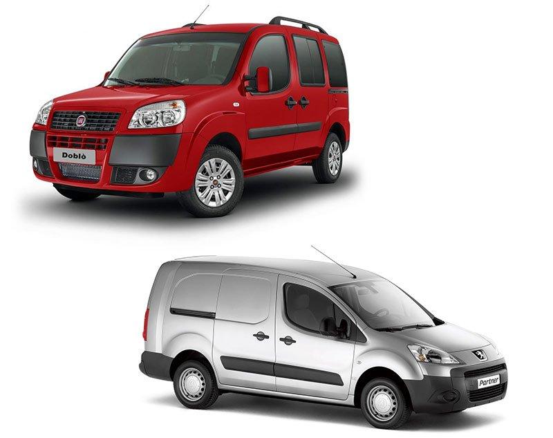 Сравнение Fiat Doblo и Peugeot Partner