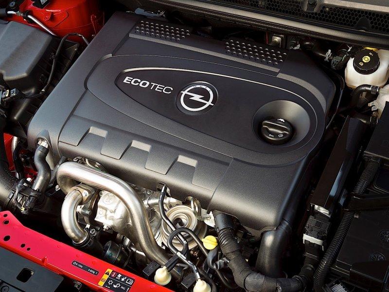 Мотор Opel Astra