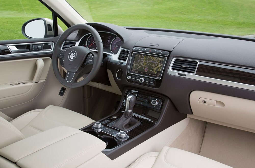 Салон Volkswagen Teramont