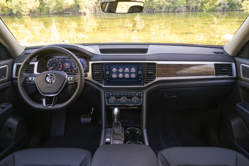 Салон Volkswagen Touareg