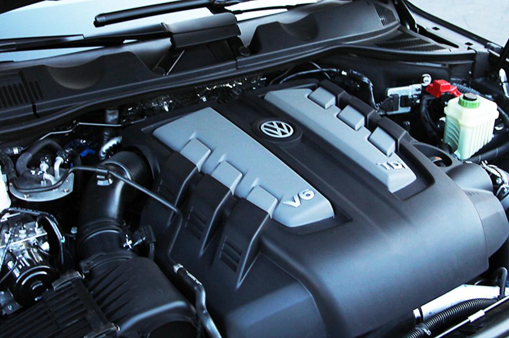 Мотор Volkswagen Teramont
