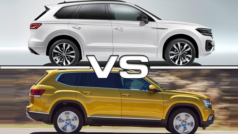 Volkswagen Touareg и Volkswagen Teramont