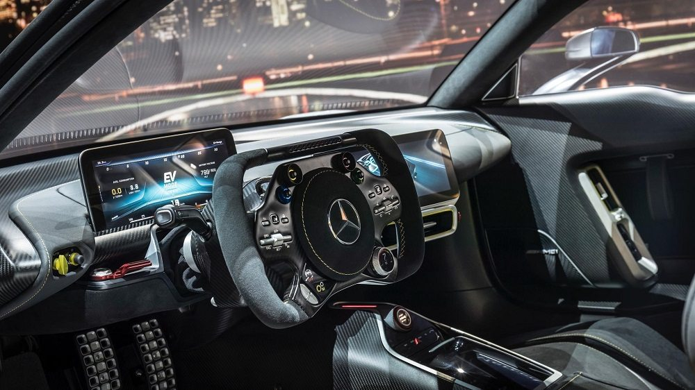 Amg Project One внутри