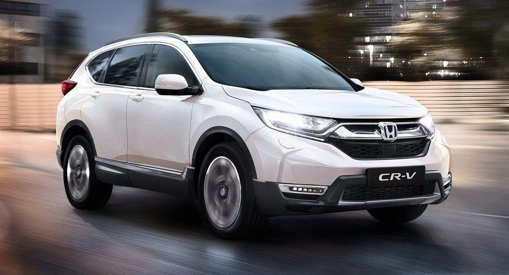 Лучший паркетник Honda CR-V