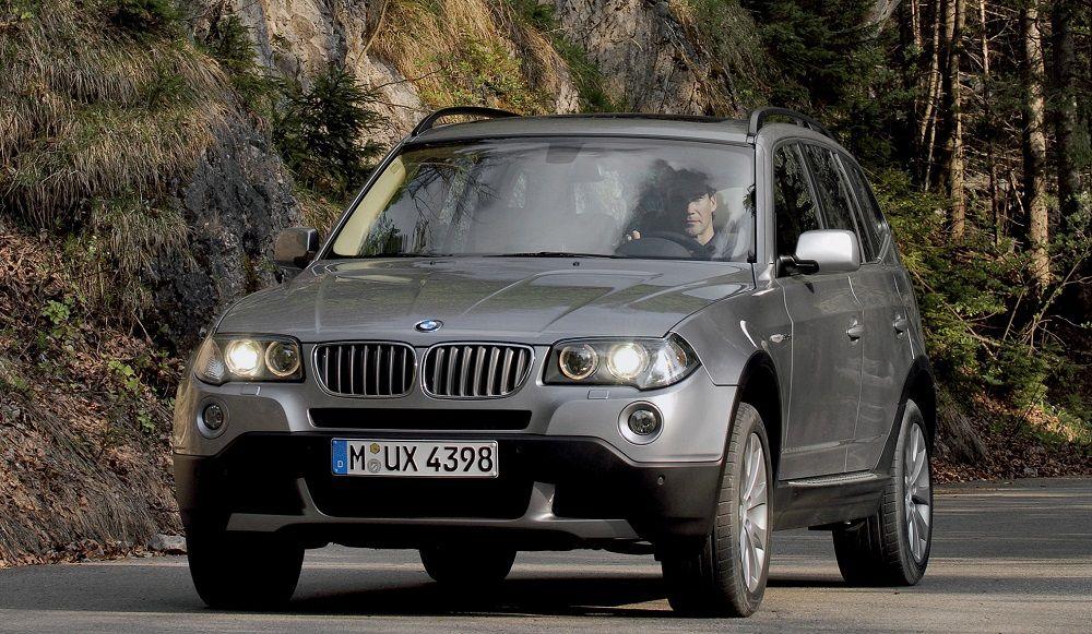 Подержанный кроссовер до 600 тысяч BMW X3
