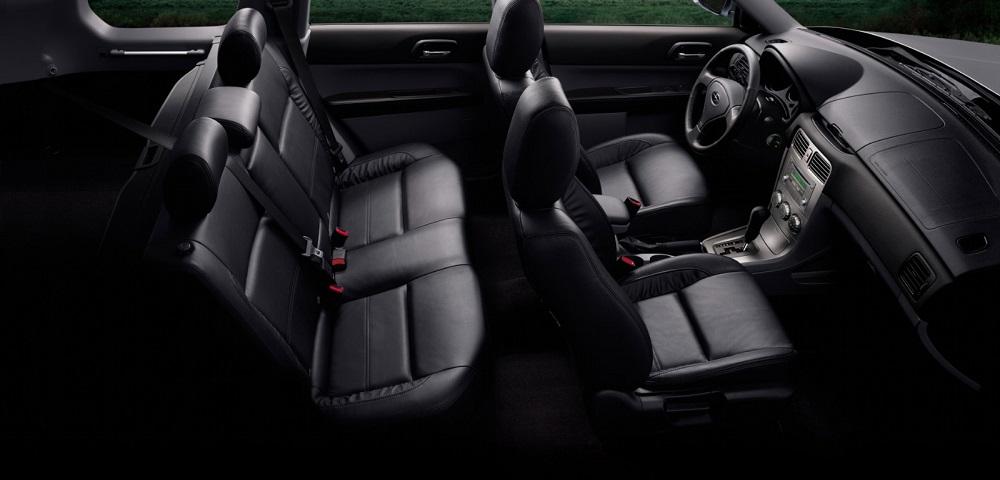Подержанный кроссовер до 600 тысяч Subaru Forester внутри