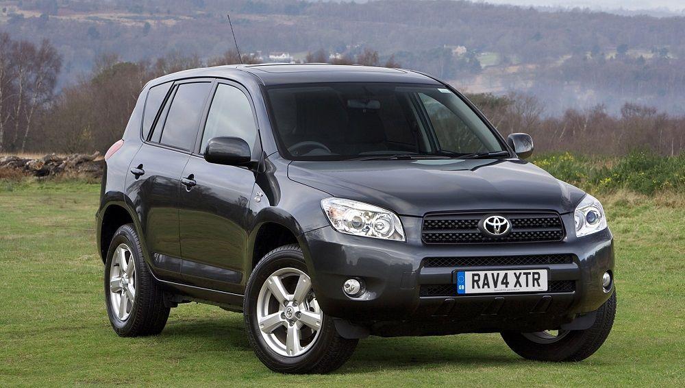 Подержанный внедорожник до 400 тысяч Toyota RAV4