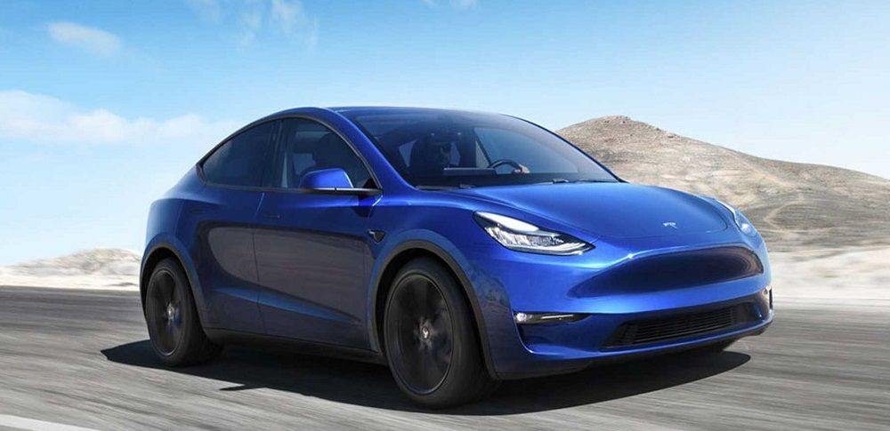 Американский автомобиль Tesla Model Y