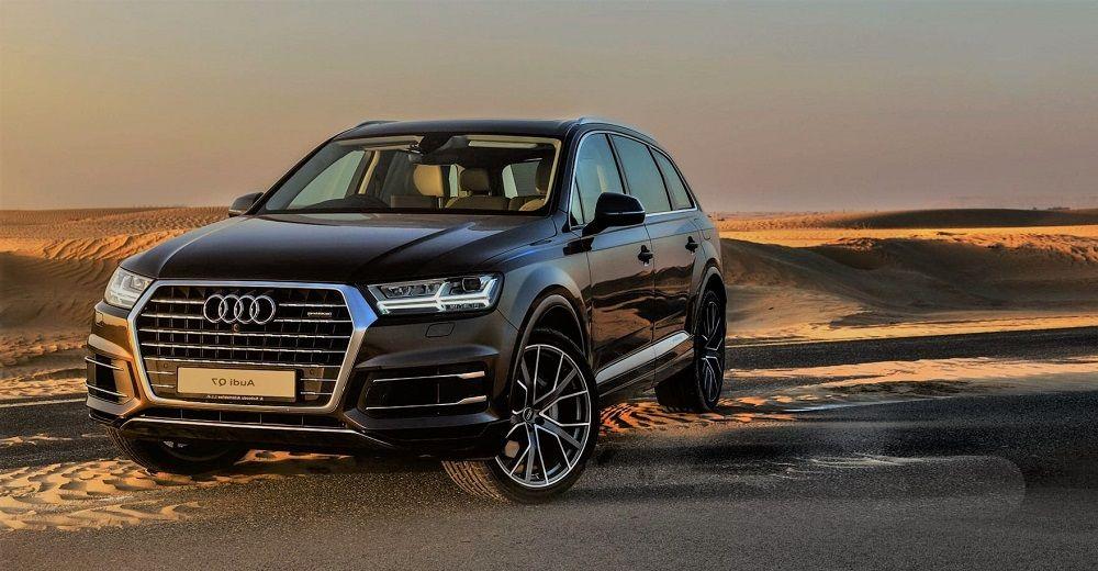 Авто с большим клиренсом Audi Q7