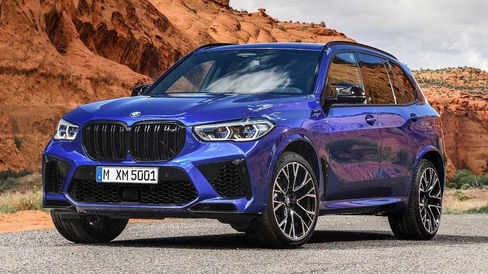 Авто с большим клиренсом BMW X5