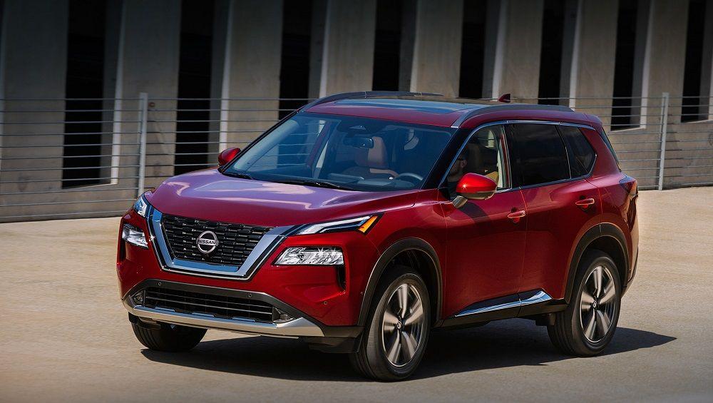Авто с большим клиренсом Nissan X-Trail