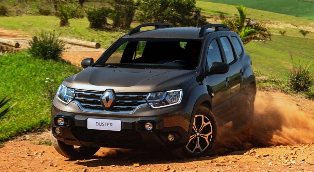 Авто с большим клиренсом Renault Duster