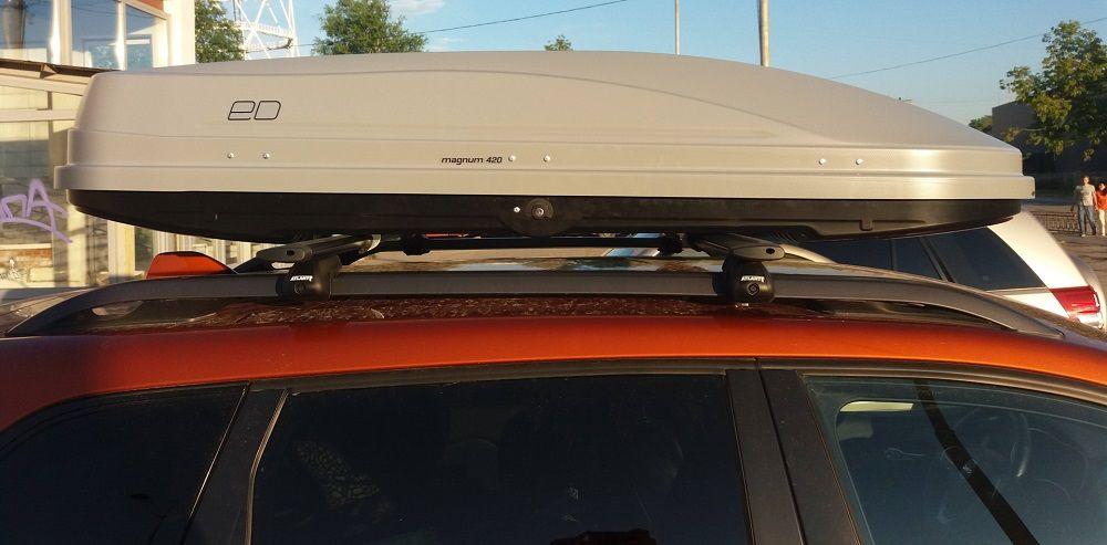 Багажник на крышу авто Евродеталь Магнум 420