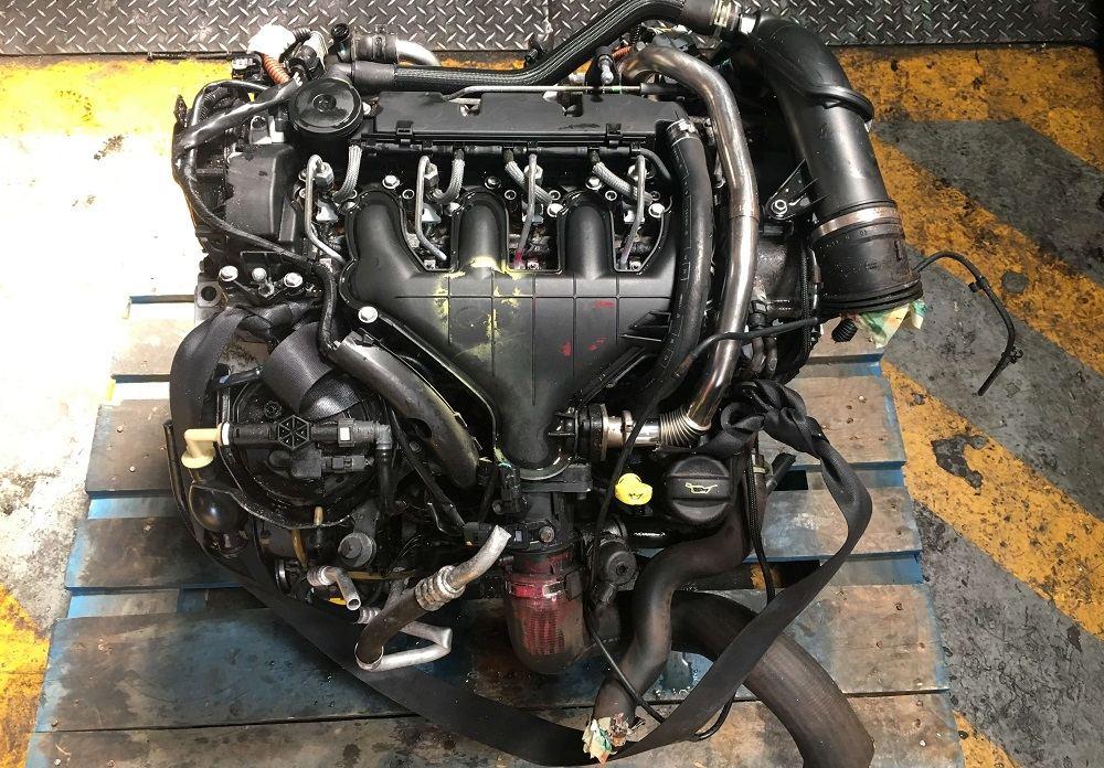 Дизельный двигатель Peugeot DW10