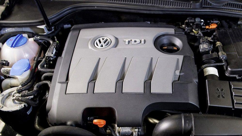 Дизельный двигатель Volkswagen 1.6 TDI