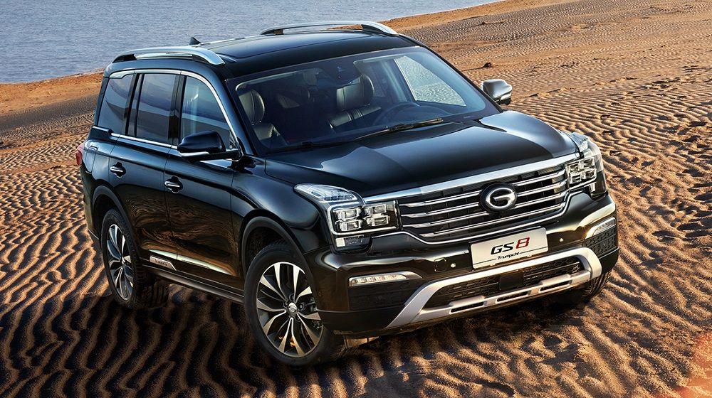 Китайский автомобиль GAC GS8