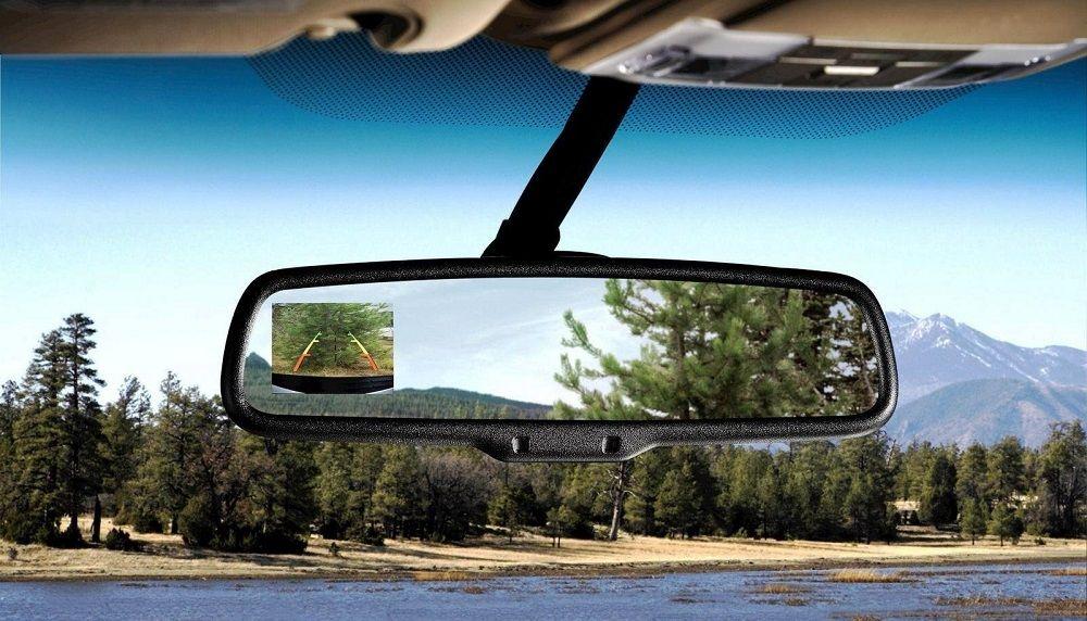 Лучшие зеркала заднего вида с монитором