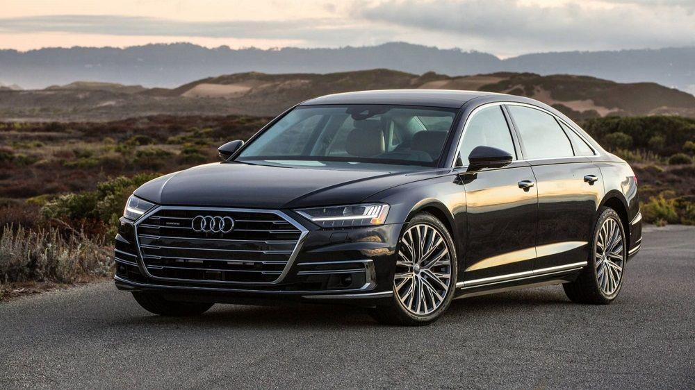 Лучший автомобиль премиум-класса Audi A8 L