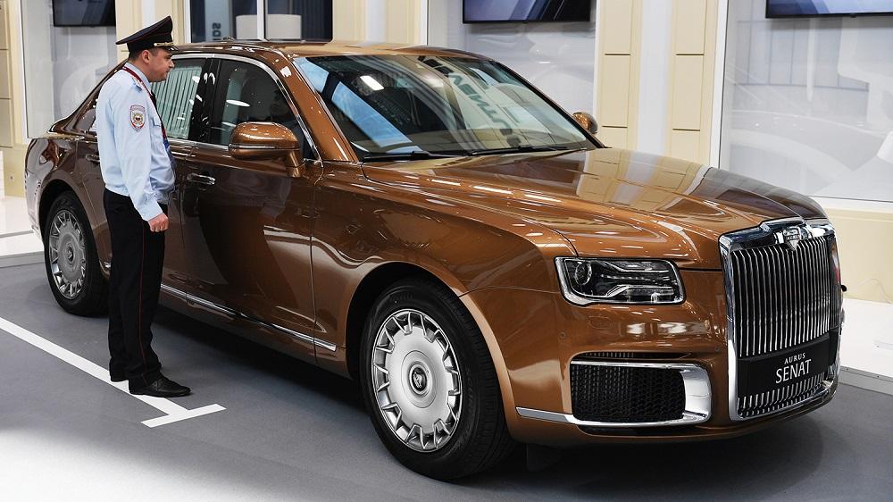 Лучший автомобиль премиум-класса Aurus Senat