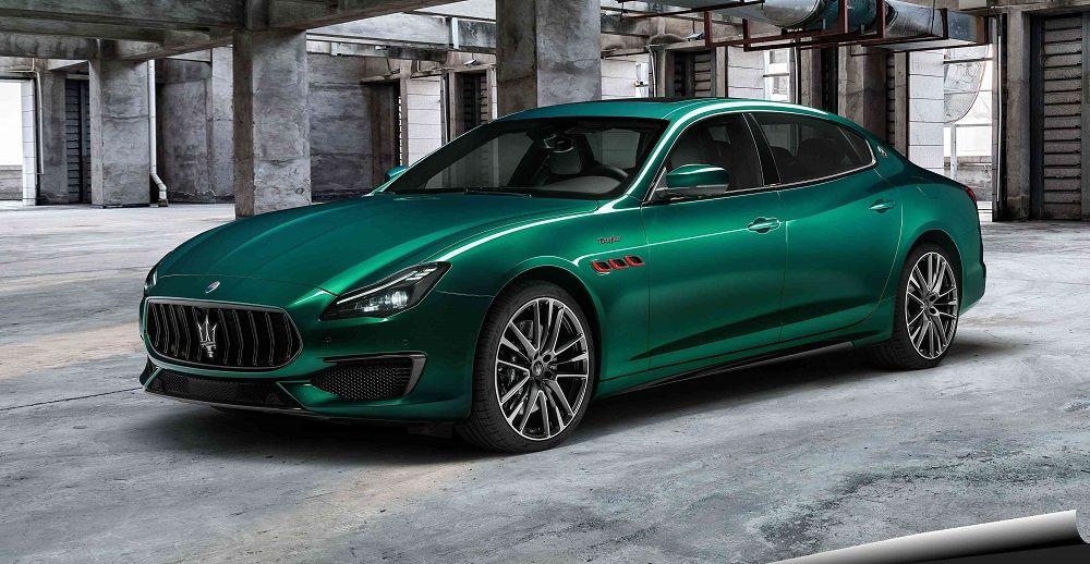 Лучший автомобиль премиум-класса Maserati Quattroporte