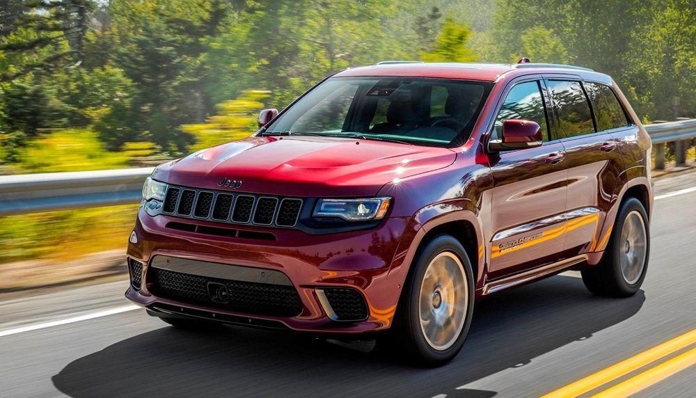 Лучший внедорожник Jeep Grand Cherokee Trackhawk