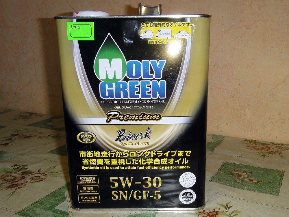 Масло для двигателя с большим пробегом Liqui Moly Green Premium Black