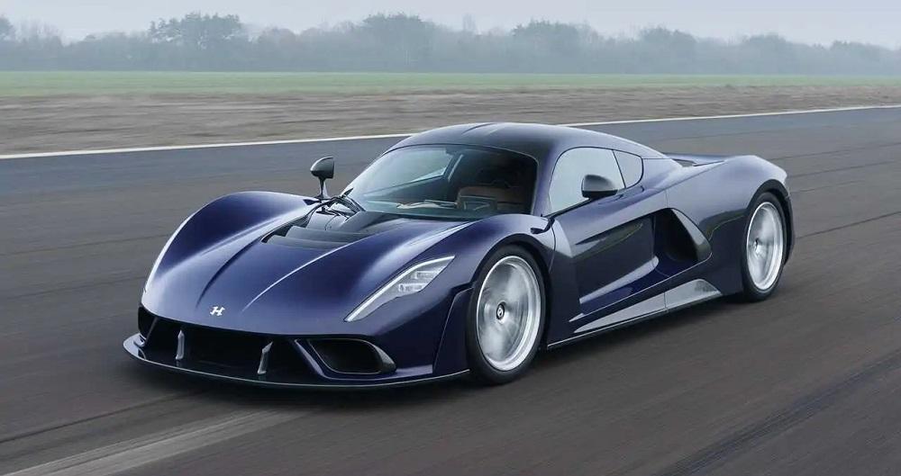 Мощный автомобиль Hennessey Venom F5