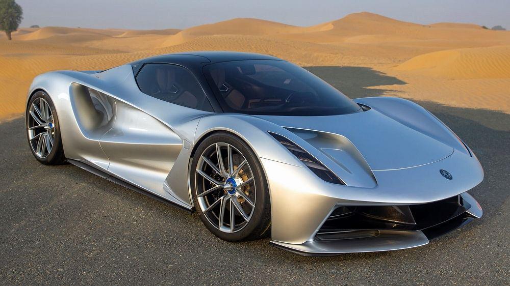 Мощный автомобиль Lotus Evija (Type 130)